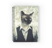 Fancy Cat Spiral Notebook