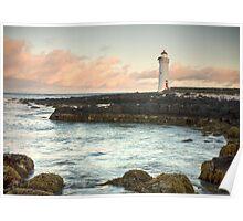 Port Fairy Light House Poster