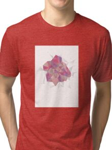 Low poly Geometrics Tri-blend T-Shirt