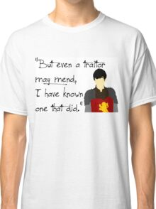 Edmund Pevensie Traitor Quote Classic T-Shirt