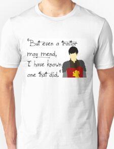 Edmund Pevensie Traitor Quote T-Shirt
