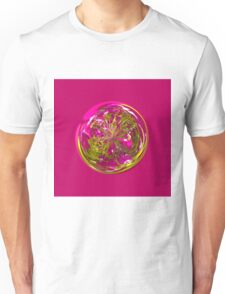 Its a purple and yellow flower in the globe Unisex T-Shirt