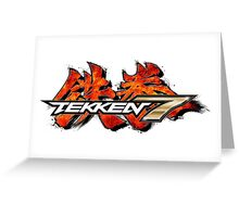 Tekken 7 Greeting Card