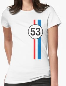 HERBIE (53) Womens Fitted T-Shirt