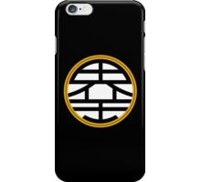 DBZ King Kai's Kanji iPhone Case/Skin