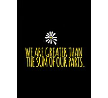 John Green -- Looking For Alaska -- Sum of Our Parts Photographic Print