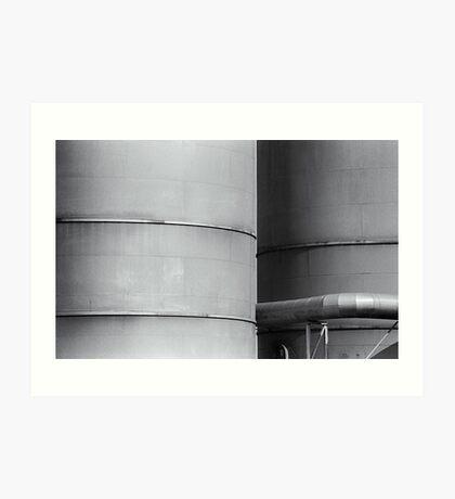 SiloLine - II Art Print