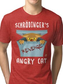 Schrödinger's angry cat Tri-blend T-Shirt