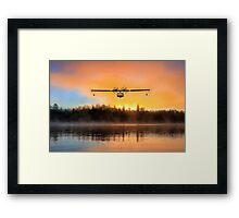 Catalina Lake Landing Framed Print