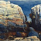 Frederick Childe Hassam (American, ). The Gorge, Appledore by MotionAge Media