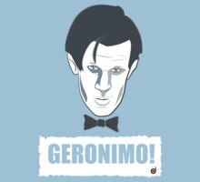 Doctor Who GERONIMO! Kids Clothes