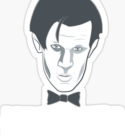 Doctor Who GERONIMO! Sticker