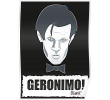 Doctor Who GERONIMO! Poster