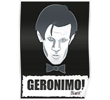 Doctor Who GERONIMO! Poster