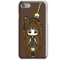 Brauny Retro by Lolita Tequila iPhone Case/Skin