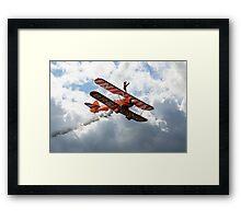Brietling Wing Walkers Framed Print
