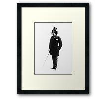 (Super) Distinguish Dog Framed Print