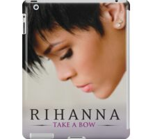 rihanna take a bow cute iPad Case/Skin