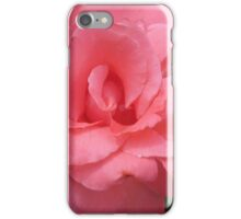 Pink Rose Close Up iPhone Case/Skin