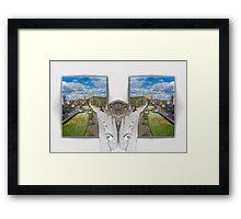 York. Double take Framed Print