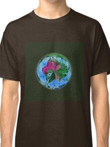 Maid in the mist in the globe Classic T-Shirt