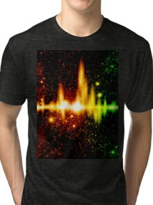 Retro space background Tri-blend T-Shirt