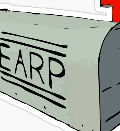 Earp Mail Box - Wynonna Earp Sticker