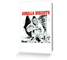 gorilla biscuits gorilla biscuits Greeting Card