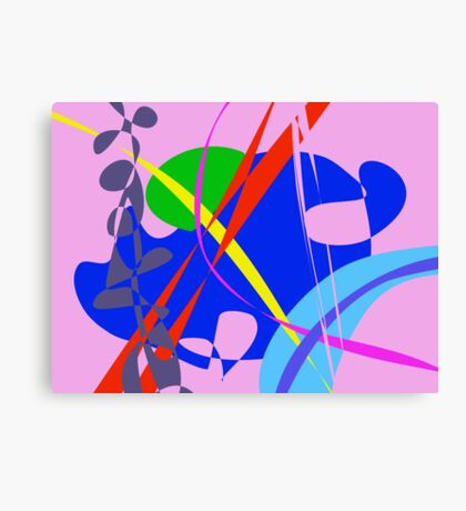 Psychedelic Abstract Pattern Canvas Print