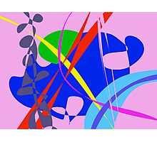 Psychedelic Abstract Pattern Photographic Print