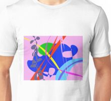 Psychedelic Abstract Pattern Unisex T-Shirt