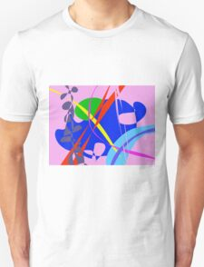 Psychedelic Abstract Pattern T-Shirt