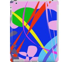 Psychedelic Abstract Pattern iPad Case/Skin