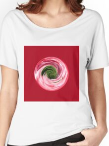 Twirl in the globe Women's Relaxed Fit T-Shirt