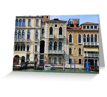 All About Italy. Venice 5 Greeting Card