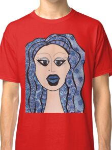 Lady Has the Blues Classic T-Shirt