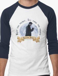 Keep the Prince, I'll take the Pirate - Killian Jones Men's Baseball ¾ T-Shirt