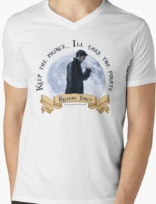Keep the Prince, I'll take the Pirate - Killian Jones Mens V-Neck T-Shirt