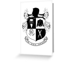 Armitage Army CoA  Greeting Card