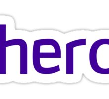 Heroku logo Sticker