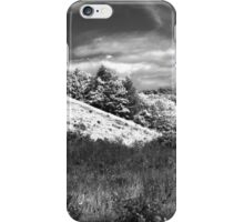 The black and white valley iPhone Case/Skin