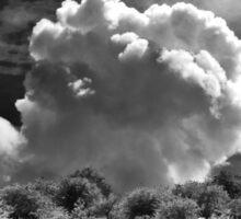 Valley cloud Sticker