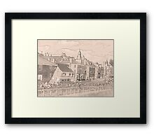 Kings Staithe York river Ouse Framed Print