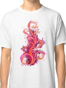 Abstract Flame Classic T-Shirt