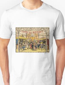 Loto Des Metiers - Loto Des Metiers Poster. Сhildren portrait: Сhildren, kids, Fair, shop, child, kids, toy, boys and girls, boy and girl, Shop toys, childhood Unisex T-Shirt