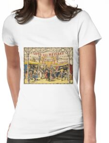 Loto Des Metiers - Loto Des Metiers Poster. Сhildren portrait: Сhildren, kids, Fair, shop, child, kids, toy, boys and girls, boy and girl, Shop toys, childhood Womens Fitted T-Shirt