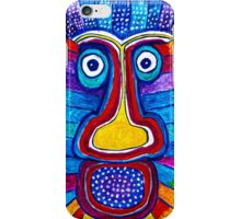 Rainbow Hand Drawing Face iPhone Case/Skin