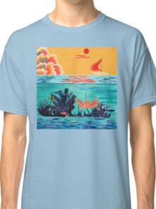 """OVER & UNDER"" OCEAN COLLAGE Classic T-Shirt"
