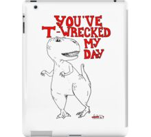 Animals Are Mean: T-Rex iPad Case/Skin