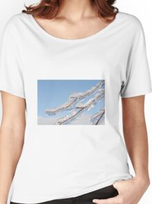 Twigs in ice  Women's Relaxed Fit T-Shirt